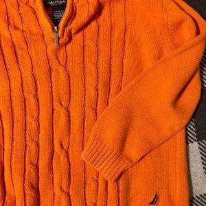 Adorable Nautica Sweater 🧡
